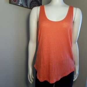 Lou & Grey 100% Linen Tank Top